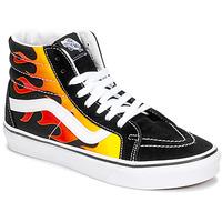 Schoenen Hoge sneakers Vans SK8-HI REISSUE Zwart / Flame