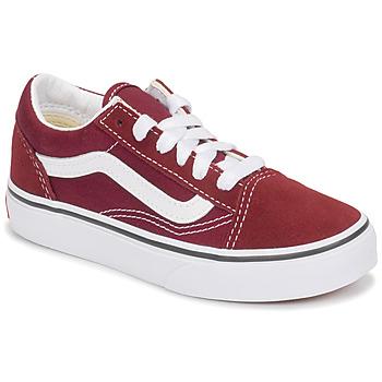Schoenen Kinderen Lage sneakers Vans UY OLD SKOOL Bordeau