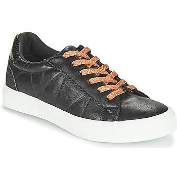 Schoenen Dames Lage sneakers Le Temps des Cerises VIC Zwart