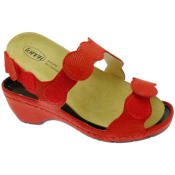 Schoenen Dames Sandalen / Open schoenen Calzaturificio Loren LOE687ro rosso