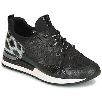 Schoenen Dames Lage sneakers Remonte Dorndorf R2503-45 Zwart / Luipaard
