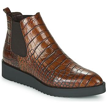 Schoenen Dames Laarzen Perlato JAMINO Bruin