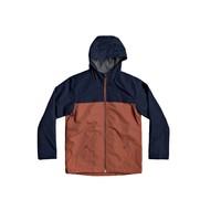 Textiel Jongens Wind jackets Quiksilver WAITING PERIOD Marine / Bruin