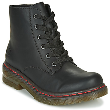 Schoenen Dames Laarzen Rieker 76240-00 Zwart