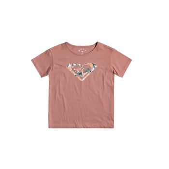 Textiel Meisjes T-shirts korte mouwen Roxy DAY AND NIGHT Roze