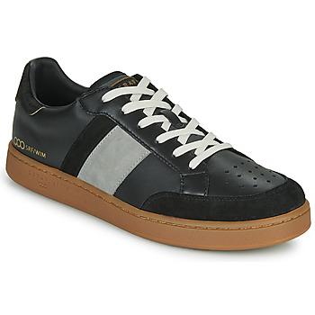Schoenen Heren Lage sneakers Serafini WIMBLEDON Zwart / Grijs