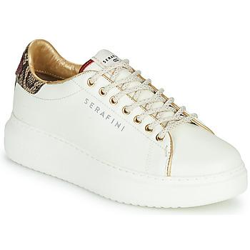 Schoenen Dames Lage sneakers Serafini J.CONNORS Wit / Slang