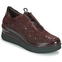 Schoenen Dames Lage sneakers Stonefly CREAM 21 Bordeau