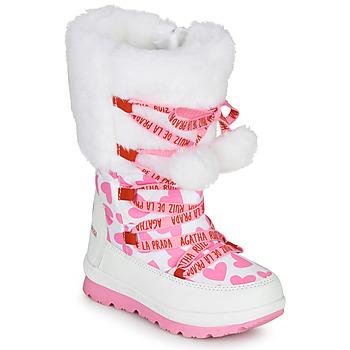 Schoenen Meisjes Snowboots Agatha Ruiz de la Prada APRESKI Wit