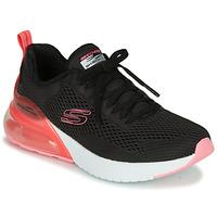 Schoenen Dames Lage sneakers Skechers SKECH-AIR Zwart / Roze