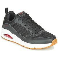 Schoenen Heren Lage sneakers Skechers UNO FASTIME Zwart