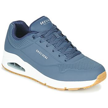 Schoenen Heren Lage sneakers Skechers UNO STAND ON AIR Marine