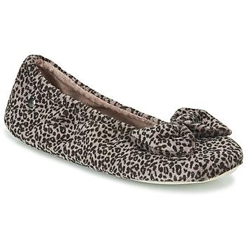 Schoenen Dames Sloffen Isotoner 97209 Luipaard