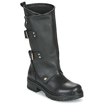 Schoenen Dames Hoge laarzen Musse & Cloud MARVIN Zwart