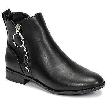 Schoenen Dames Laarzen Only BOBBY 22 PU ZIP BOOT Zwart