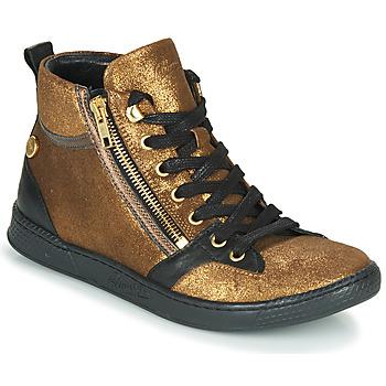 Schoenen Dames Hoge sneakers Pataugas JULIA/CR F4F Goud