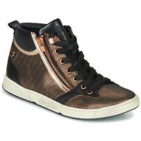 Schoenen Dames Hoge sneakers Pataugas JULIA/MIX F4F Roze / Goud / Zwart