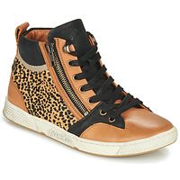 Schoenen Dames Hoge sneakers Pataugas JULIA/PO F4F Cognac / Luipaard
