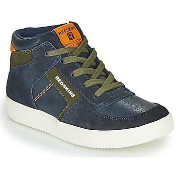 Schoenen Jongens Hoge sneakers Redskins LAVAL KID Marine / Kaki