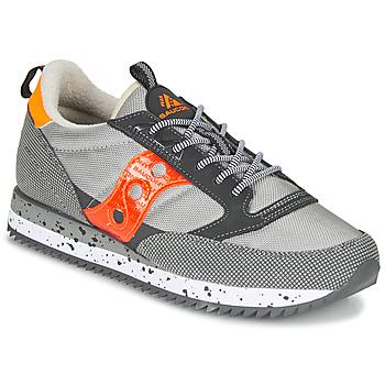 Schoenen Lage sneakers Saucony JAZZ (PEAK) Grijs / Rood / Oranje