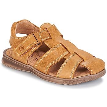 Schoenen Jongens Sandalen / Open schoenen Citrouille et Compagnie MELTOUNE Camel