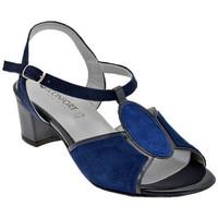 Schoenen Dames Sandalen / Open schoenen Confort  Blauw