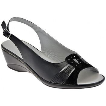 Schoenen Dames Sandalen / Open schoenen Confort  Zwart