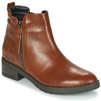 Schoenen Dames Laarzen Xti 44721 Bruin