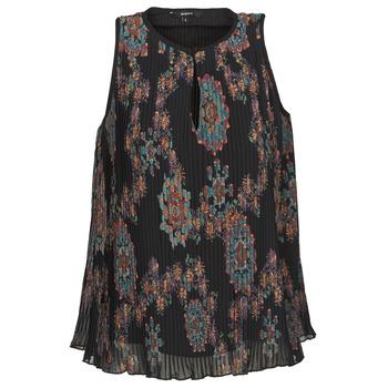 Textiel Dames Mouwloze tops Desigual MIRA Blauw