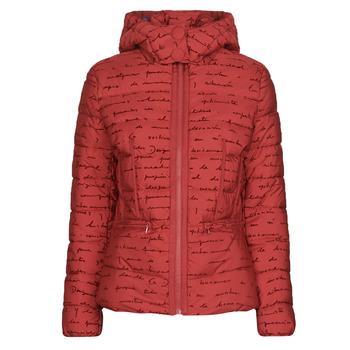 Textiel Dames Dons gevoerde jassen Desigual NATASHA Rood