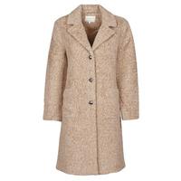 Textiel Dames Mantel jassen Cream AMELIA COAT Beige