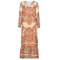 Textiel Dames Lange jurken Cream SANNIE DRESS Multi