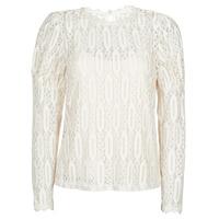 Textiel Dames T-shirts korte mouwen Cream VIVI LS TSHIRT Beige