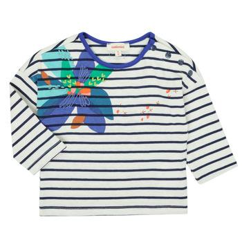 Textiel Meisjes T-shirts met lange mouwen Catimini CR10123-12 Multicolour