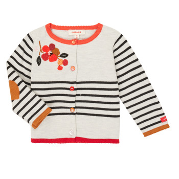 Textiel Meisjes Vesten / Cardigans Catimini CR18003-19 Multicolour
