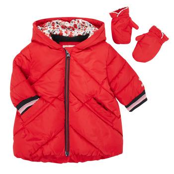 Textiel Meisjes Dons gevoerde jassen Catimini CR42013-38 Rood