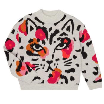 Textiel Meisjes Truien Catimini CR18035-11-J Multicolour