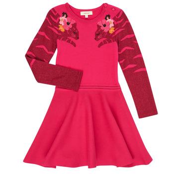 Textiel Meisjes Korte jurken Catimini CR30085-35 Roze