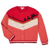 Textiel Meisjes Vesten / Cardigans Catimini CR18015-67-C Multicolour