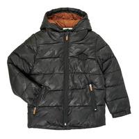 Textiel Jongens Dons gevoerde jassen Catimini CR41034-02-C Zwart