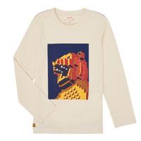 Textiel Jongens T-shirts met lange mouwen Catimini CR10064-17-C Wit