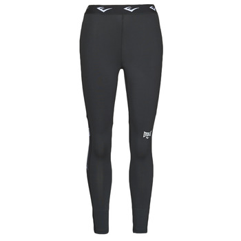 Textiel Dames Leggings Everlast THIGHT WOMEN LEONARD Zwart