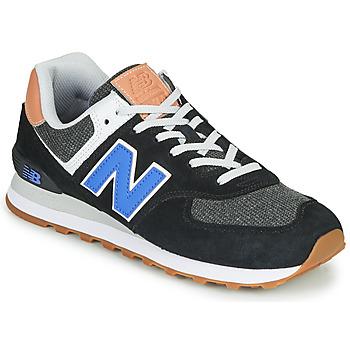 Schoenen Heren Lage sneakers New Balance 574 Zwart / Blauw