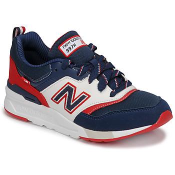 Schoenen Jongens Lage sneakers New Balance 997 Blauw / Wit / Rood