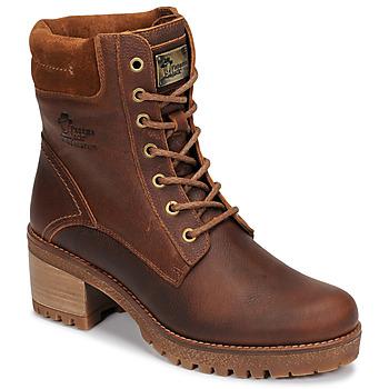Schoenen Dames Laarzen Panama Jack PHOEBE Bruin