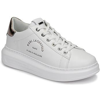 Schoenen Dames Lage sneakers Karl Lagerfeld KAPRI MAISON KARL LACE Wit