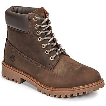 Schoenen Heren Laarzen Lumberjack RIVER Bruin
