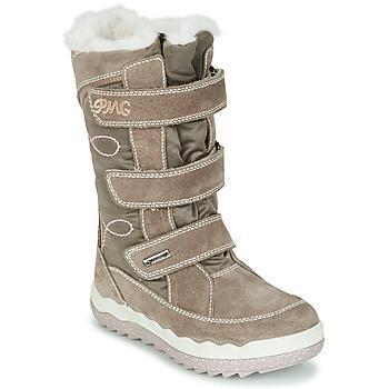 Schoenen Meisjes Snowboots Primigi FROZEN GTX Beige / Bruin