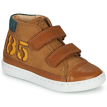 Schoenen Jongens Hoge sneakers Shoo Pom PLAY ALPHA Bruin