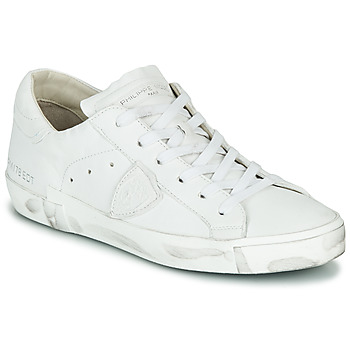 Schoenen Dames Lage sneakers Philippe Model PARIS X BASIC Wit